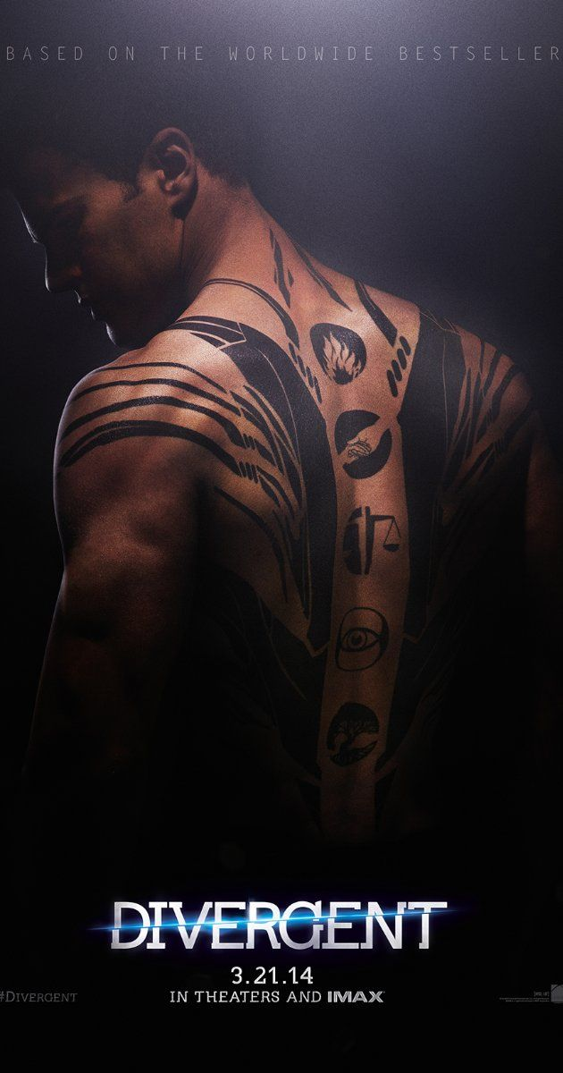Divergent (2014) - Pleased to say I am happy with yet another book turned movie. Well cast, dark but entertaining, fast-moving. Sometimes too fast through key points (and a few skipped plot points that I wish weren't), but the essence of the story of Tris and Four felt true. They trimmed the sex/violence to make it easier on the YA crowd's eyes, but it still made the point without it. ~ Kim Bongiorno @LetMeStartBySaying