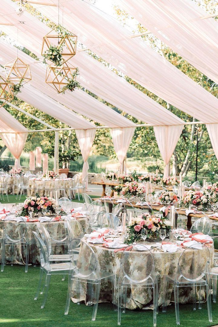 20 Tented Outdoor Wedding Decoration Ideas Tent Wedding