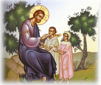 5. Στο σπίτι του Θεού Ημέρα χαράς Ξημέρωσε ημέρα Κυριακή και οι καμπάνες της εκκλησίας του χωριού άρχισαν να κ...
