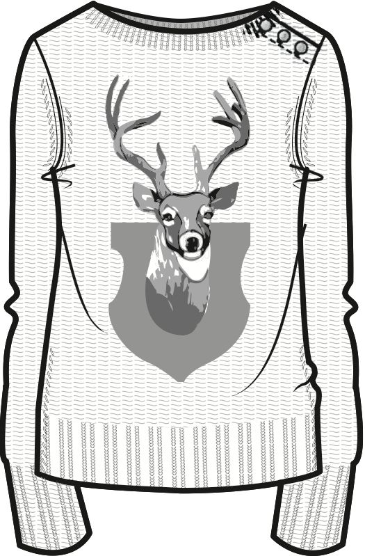 Technical Drawings Knit Collection on Behance