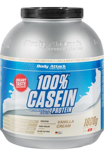 Body Attack 100% Casein Protein 1,8kg günstig | Natural-Fitness24