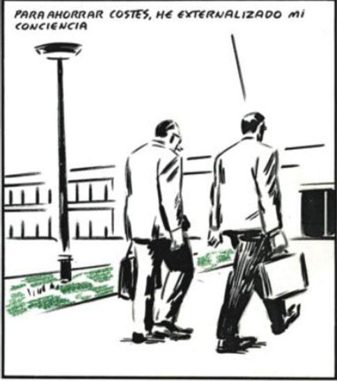Viñetas sobre la crisis de El Roto en El País 1