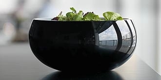 Shape bowl by Holmegaard.
