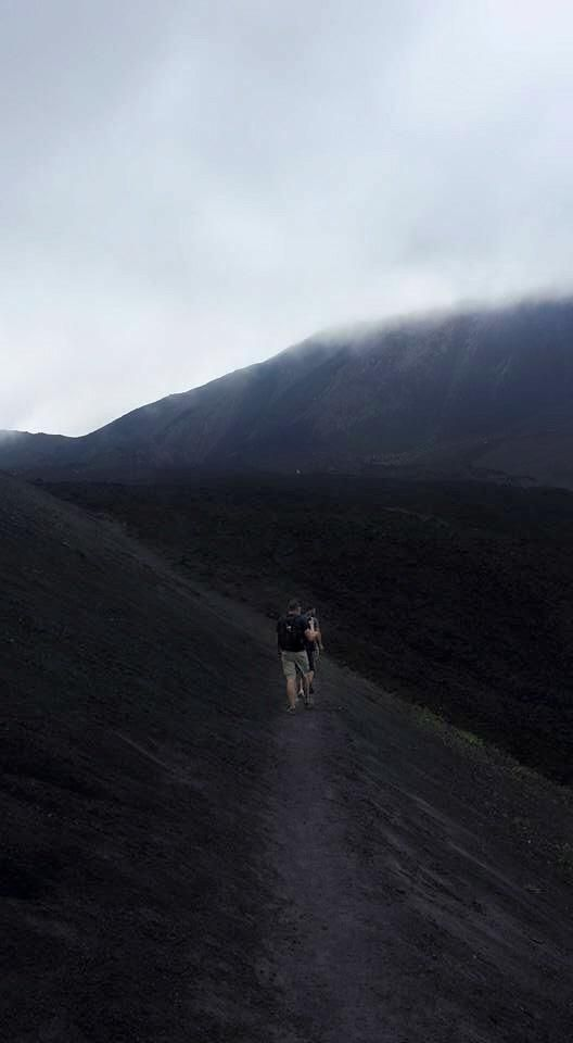 Hiking into the clouds. Pacaya volcano Guatemala. #hiking #camping #outdoors #nature #travel #backpacking #adventure #marmot #outdoor #mountains #photography