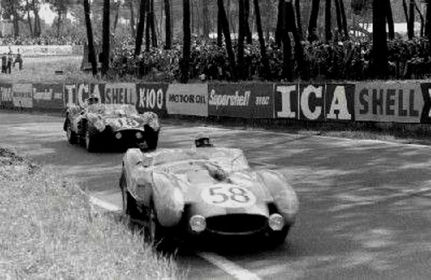 1958. Two Ferrari 250 TR cars. Both were involved in separate accidents and that was it for them.