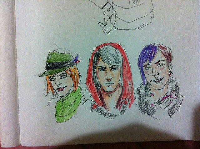 Genderbend Cerise, Poppy & Sparrow