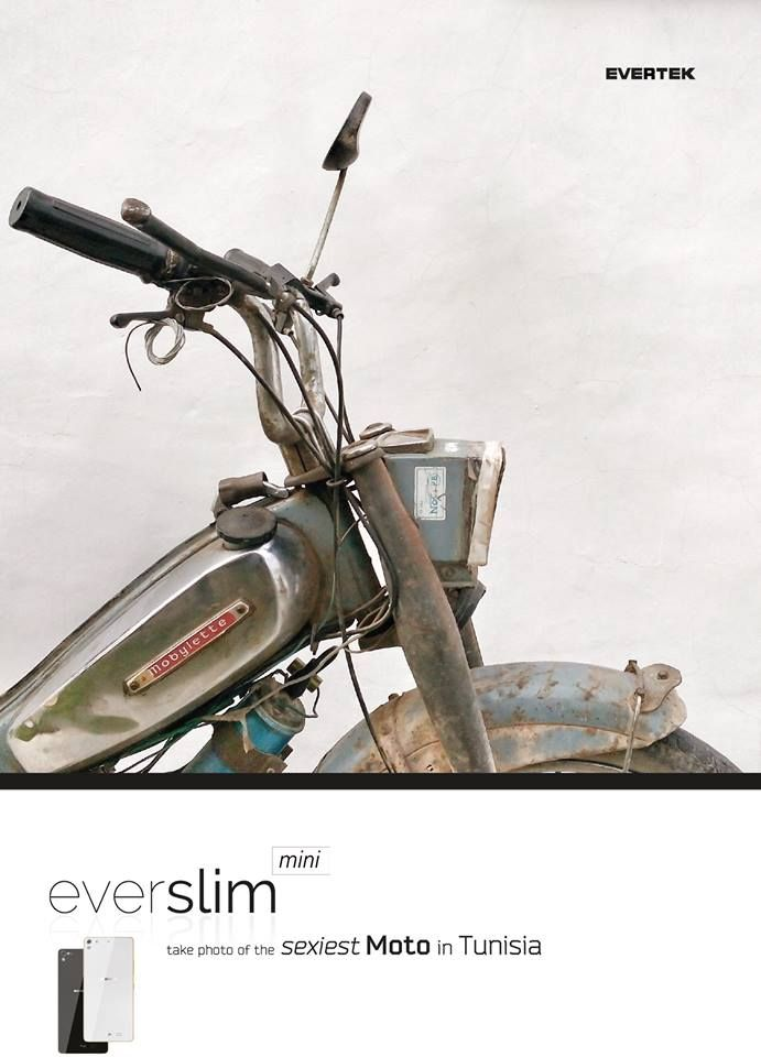 The Sexiest moto in Tunisia by EverSlim Mini