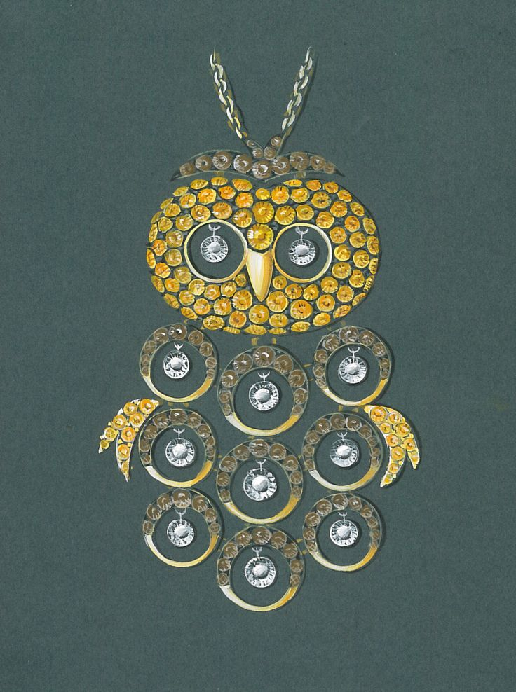 jewels drawing. #owldrawing #madeinitaly #florencejewelry