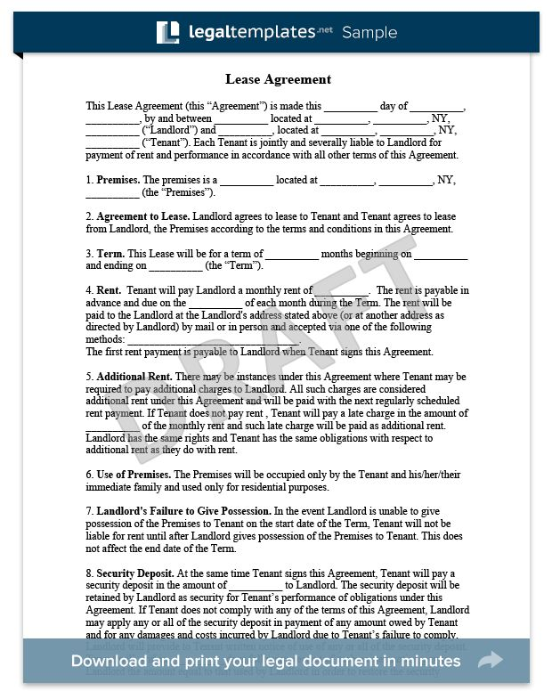 17 best Legal Document Samples images on Pinterest Templates - lease document template