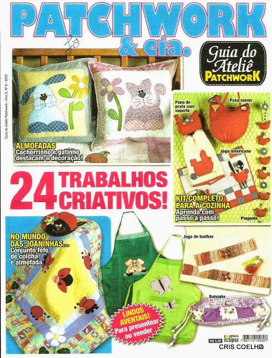 22 Guia do ateliê -Patchwork n. 6 - maria cristina Coelho - Álbuns da web do Picasa