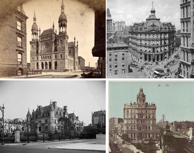 Красивые старые здания Нью-Йорка, которые больше не существуют