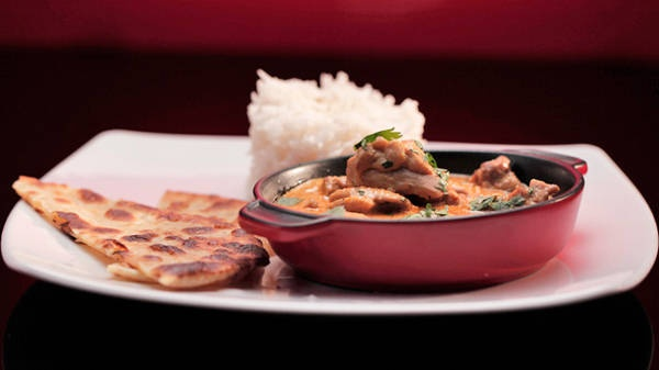 MKR4 Recipe - Butter Chicken with Spiced Flatbread and Rice