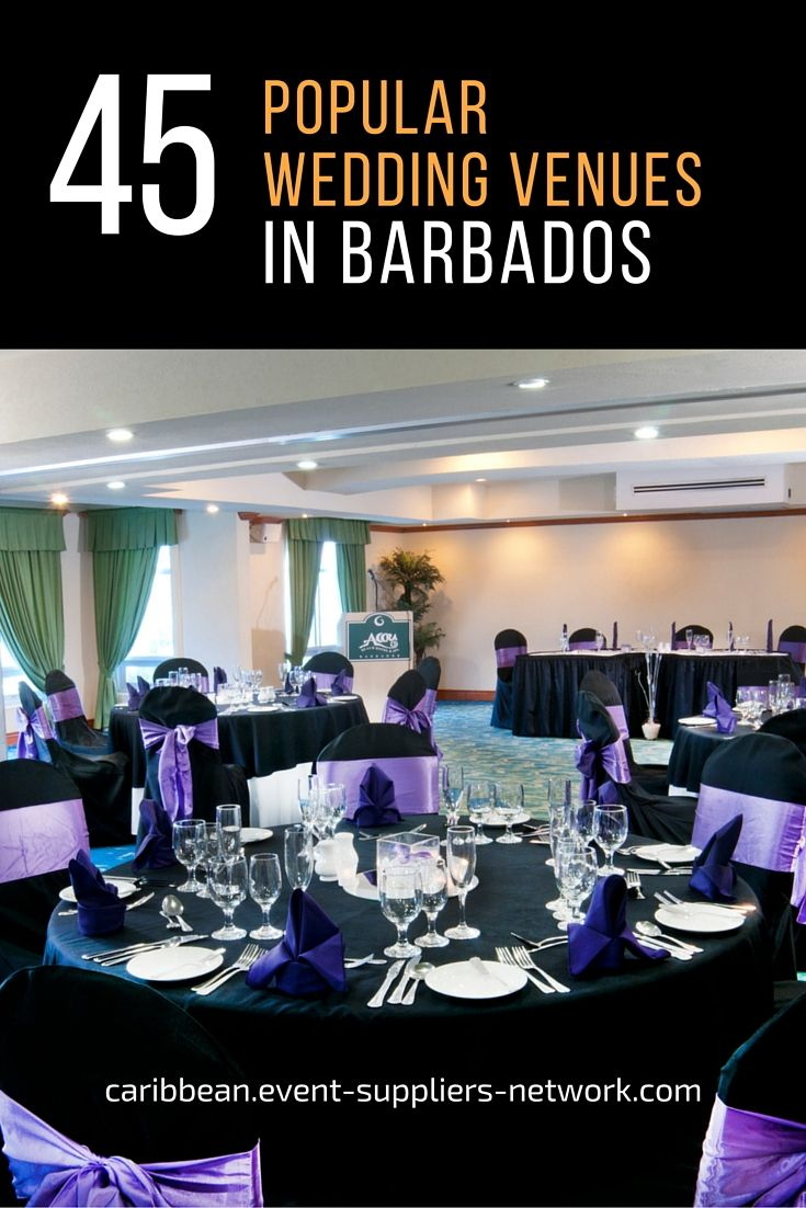 45 Popular Wedding Venues In Barbados According To Local