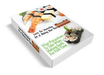 Learn the Interesting Art of Making Your Own Sushi #sushi