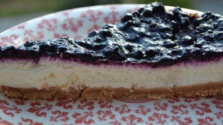 Τζίσκεικ (Cheese cake) με λικέρ Batida de coco