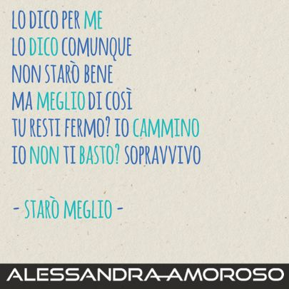 Dall'album #amorepuro ... #staròmeglio (staff)