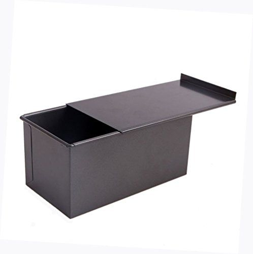 NEESHOW Carbon Steel Mold Nonstick For Cake Or Toast Making With A LidBlack * Details can be found by clicking on the image.-It is an affiliate link to Amazon.