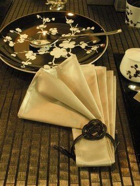 テーブルウェアフェスティバル2011 ナプキンリングのヒント の画像|食卓にカルトナージュ・手作り小物をプラスして☆千葉市のサロン