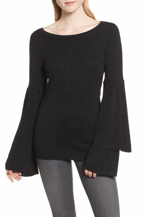 Chelsea28 Bell Sleeve Sweater