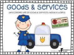 Teach your students about Goods and Services with this comprehensive unit.