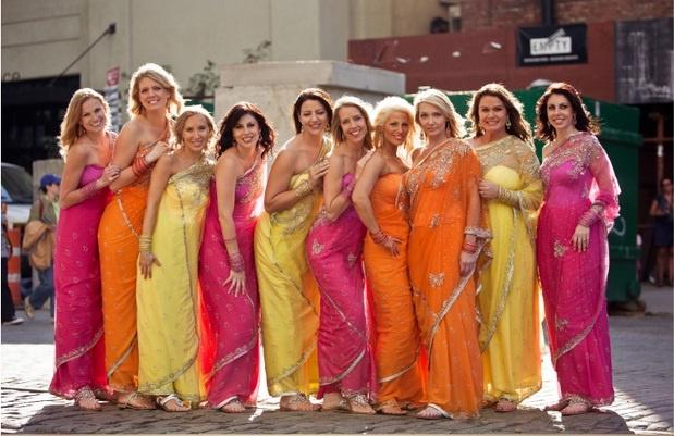 Sarees for bridesmaids