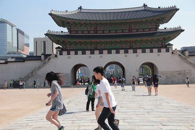 Gwanghwamun palace gate