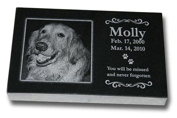 Medium Standard Pet Grave Marker - Pet Headstones - Pet Gravestones - Pet Memorials * Learn more by visiting the image link. (This is an affiliate link and I receive a commission for the sales)