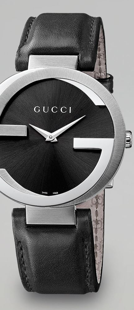 Gucci Interlocking Stainless Steel Watch