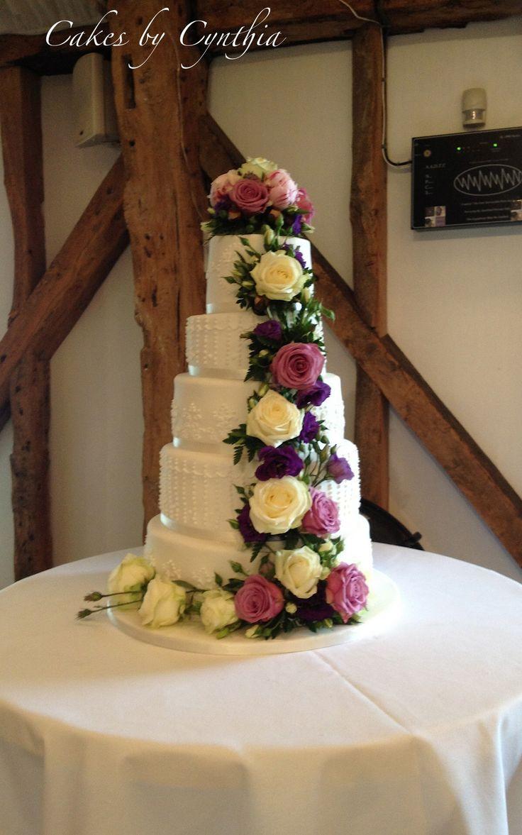 52 best iced wedding cakes images on pinterest | rose wedding