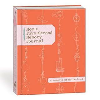 best gifts for new moms: 5 second memory journal