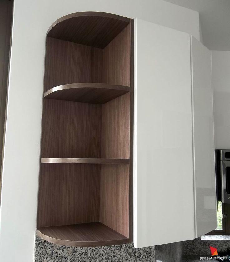 Las 25 mejores ideas sobre esquineros de madera en for Muebles prefabricados para cocina