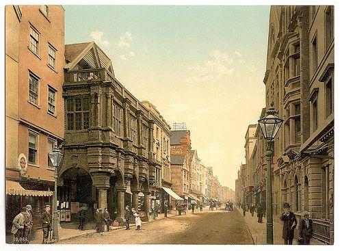 High Street, Exeter, England