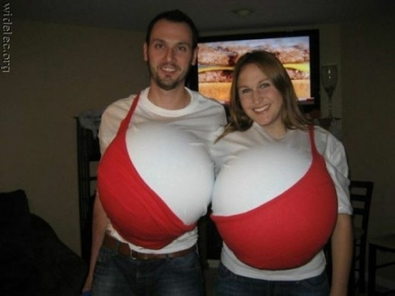 funny couples costume! by serena