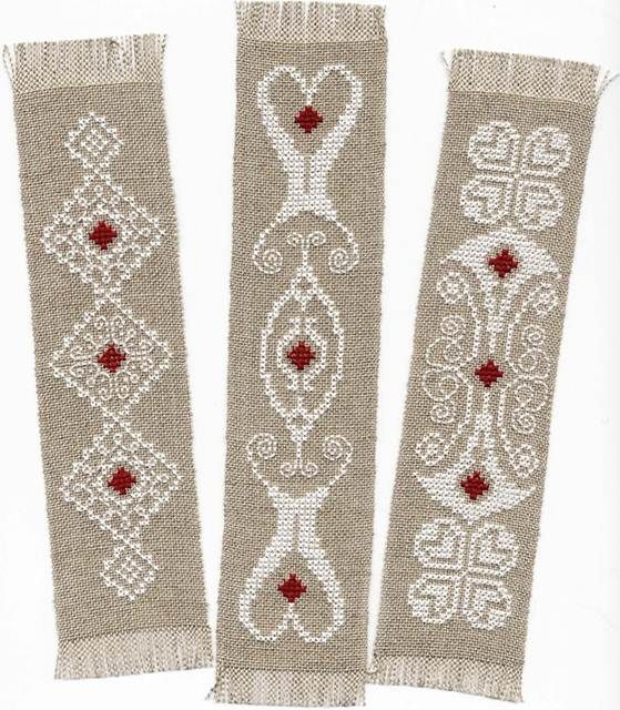 bookmarks free cross stitch                                                                                                                                                                                 More