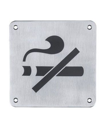 "Low cognitive effect- This sign is clear as it is definitely an image of a cigarette with a slash through it, meaning ""no smoking."""