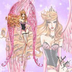Princesas Disney como modelos da Victoria's Secret   Just Lia