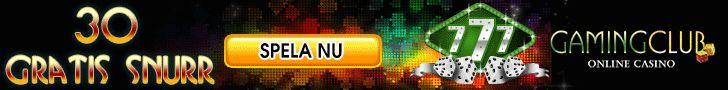 Svenskt nätcasino Gaming Club tar hem jackpottarna till dig. Spela de bästa Svenska casinospelen & njut av fantastisk nätunderhållning direkt här. #30gratisspin #30gratis #gamingclub30gratisspin