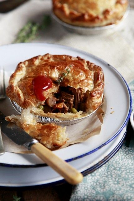 the Perfect Meat Pie Recipe - Best Home Chef #australian #british #lunch #parties