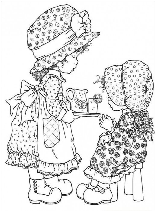 coloring pages holly - photo#27