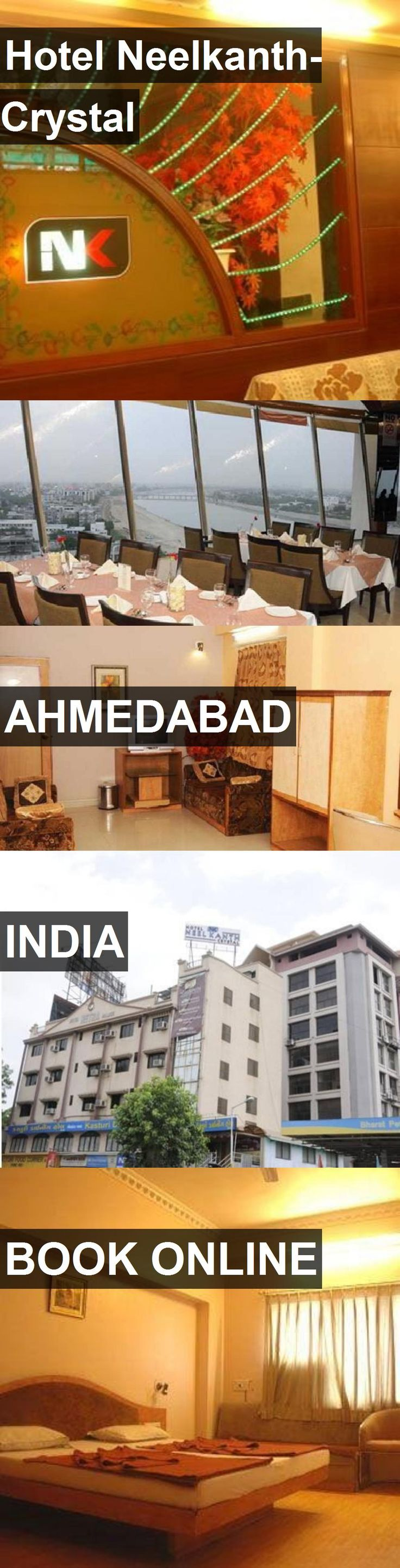 Hotel Hotel Neelkanth-Crystal in Ahmedabad, India. For more information, photos, reviews and best prices please follow the link. #India #Ahmedabad #HotelNeelkanth-Crystal #hotel #travel #vacation