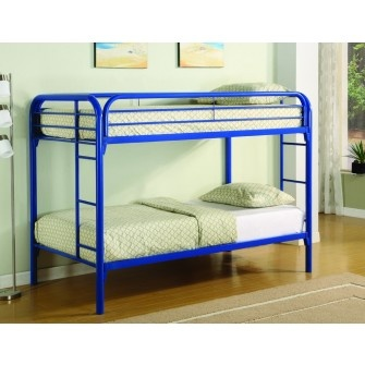 Nash Twin/Twin Bunkbed Blue