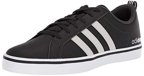adidas Men's VS PACE Sneaker, core Black, FTWR White, Scarlet, 9 M ...