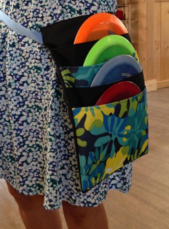 Revr disc golf bags with adjustable belt// by Revediscgolf on Etsy