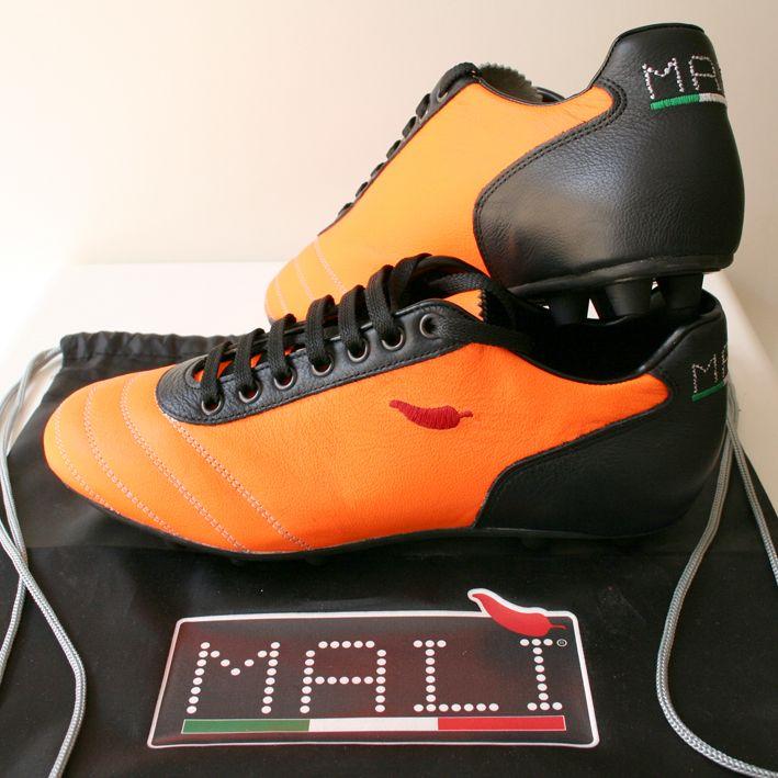 ONE Malì  Arancio fluorescente, Nero  suola gommata classica