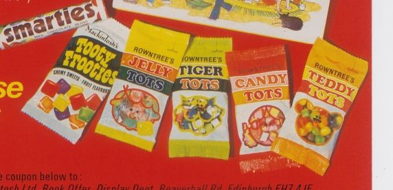 tiger tots teddy tots candy tots and jelly tots