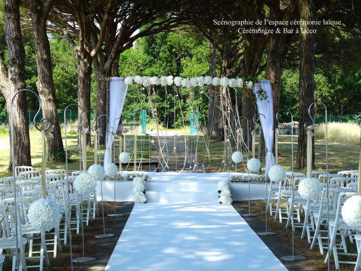 Ceremonie laïque, decoration ceremonie laique, ceremonie en exterieur, ceremonie laique toulouse, allee nuptiale, dais nuptial, houppa, decoration tonnelle, compositions florales, mariage laic toulouse, pétales de roses, fleurs fraîches, fleur ceremonie, bouquet ceremonie, moquette tapis ceremonie, decoration eglise, fleur eglise, mariage laic