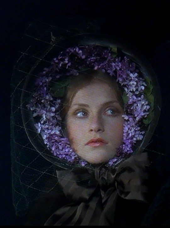 "Isabelle Huppert as Marguerite Gautier in ""La Dame aux Camélias"" (1980) one of the best costume designs!!"