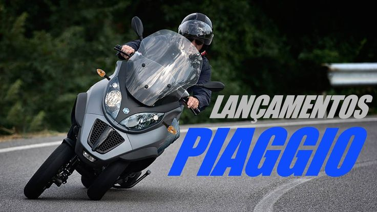Lançamentos Piaggio 2017 - MOTO.com.br