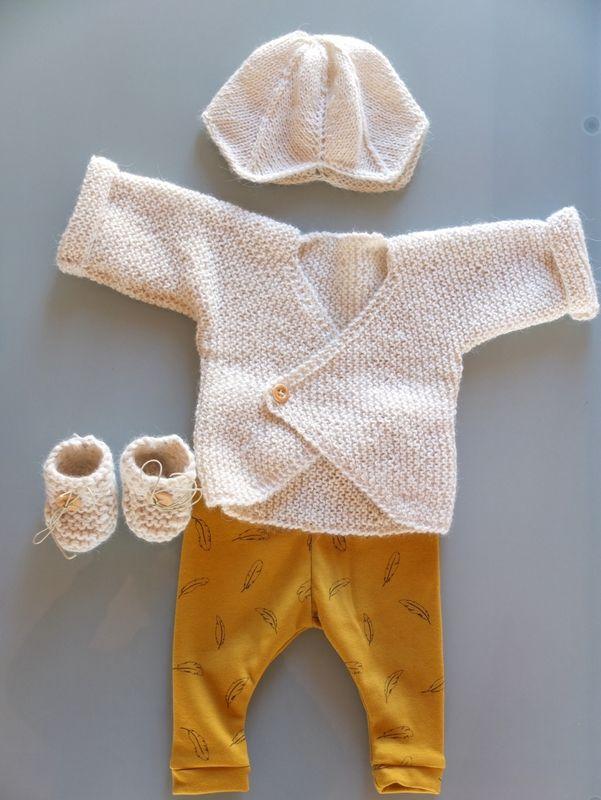 tricot layette: Tricot La Droguerie - Legging aime comme Marie (mamoizelleK)