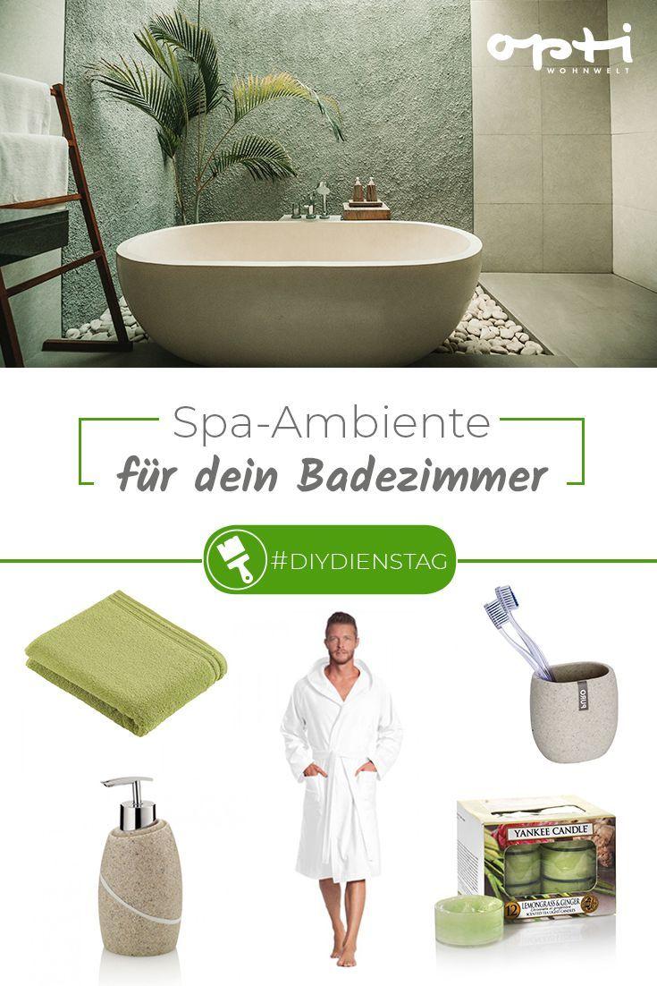 Verwandle Dein Badezimmer Zu Hause In Eine Wellness Oase Bei Uns Findest Du Alles Was Du Fur Das Heimische Spa Ambiente Brauc Wohnwelt Spa Ambiente Badezimmer